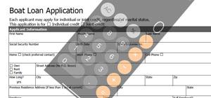 Finance application screenshot
