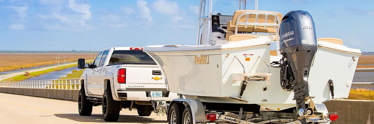 Parker Boat on Trailer